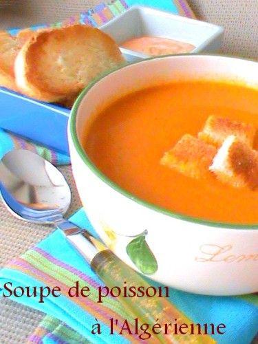 Soupe de poisson : Recette Algérienne -