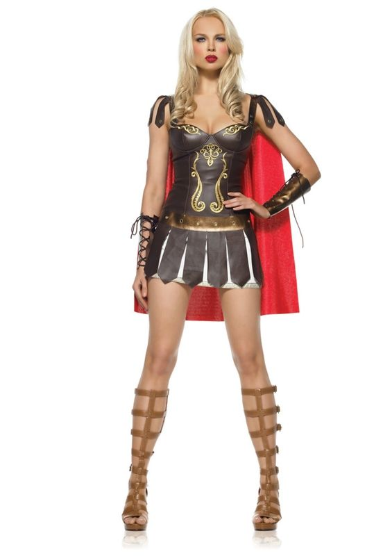 3pc Warrior Princess Adult Costume #sexy womens costumes #sexy halloween costumes