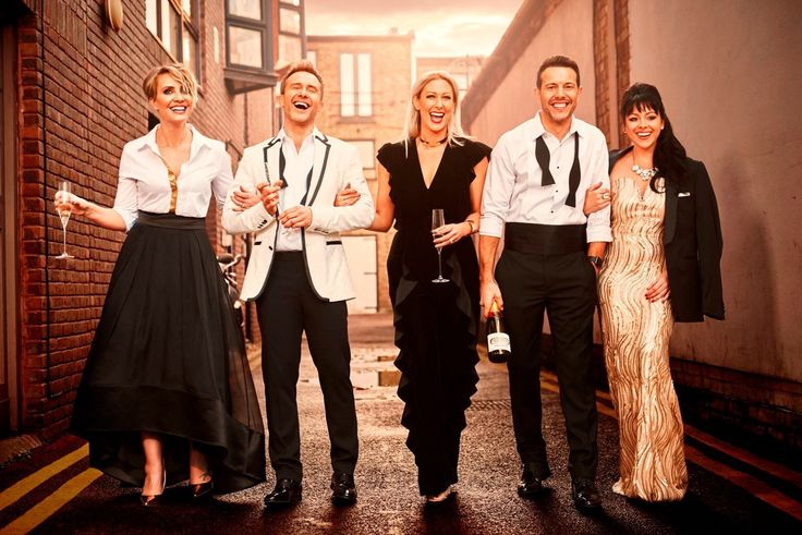 And they are back 🦋! #Repost @princessclarabella ・・・ Here we go again #steps20 #20yearsofsteps @officialsteps @fascinationmanagement @fayetozersmith @ianhwatkins @lisascottlee1 @llatchfordevans 👱🏻👱🏻♀️👩🏻👦🏻👧🏼