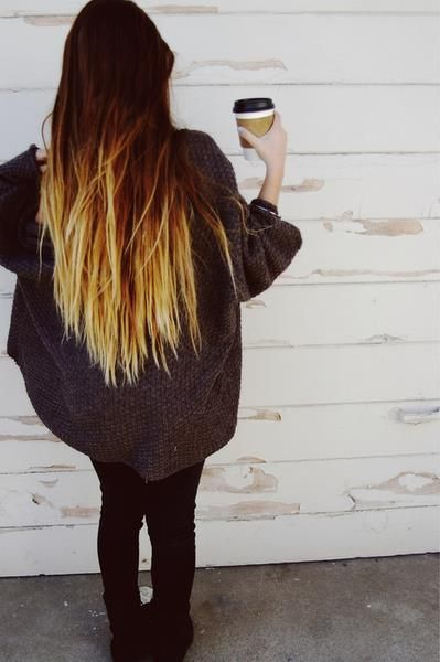 barevné vlasy ombré - Hledat Googlem
