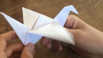 How To Make an Origami Flapping Bird - YouTube