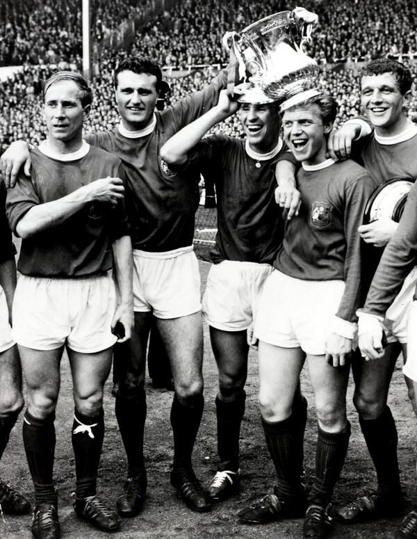 25th May 1963, MUFC won the FA Cup, beating Leicester 3-1 thanks to goals from Denis Law (2) and David Herd.