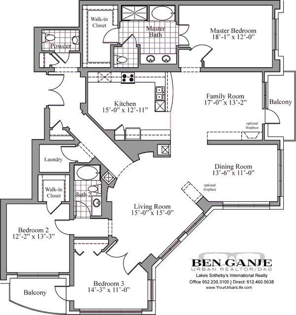 Best 25 Condo Floor Plans Ideas Only On Pinterest Sims