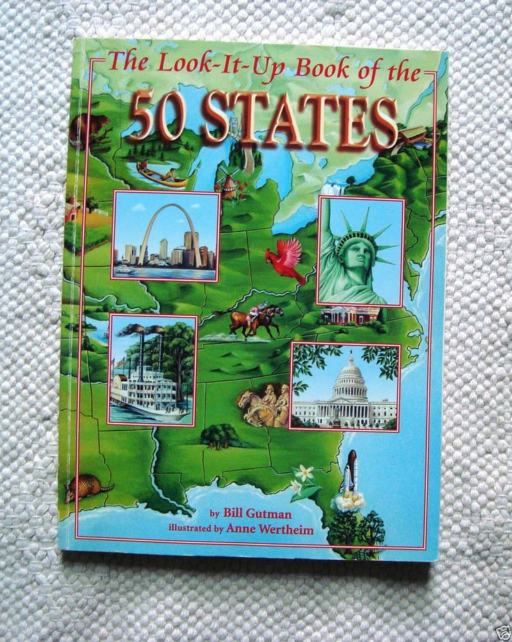 The Look-It-Up Book of the 50 States 5th-8th Grade Homeschool Social Studies  #Textbook