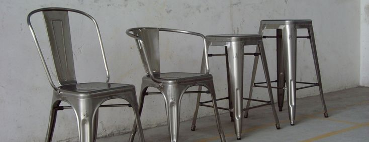Restaurant Chairs and Bar Stools, Rustic Industrial Furniture, Mid Century Modern Furniture, Tolix - Designform Furnishings - Designform Furnishings