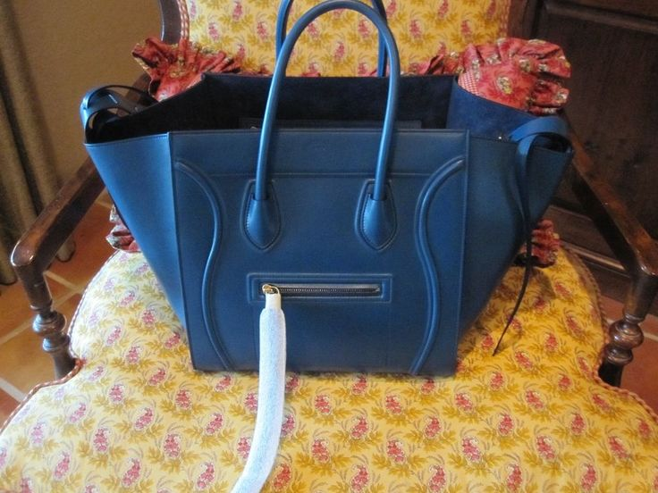 Celine Phantom Blue Python Authentic Pre-owned Good Condition ...
