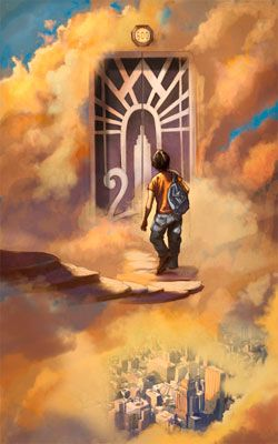 Percy Jackson (Book 1): Incredible artwork, beautiful view - just like I imagined it when I read the book.
