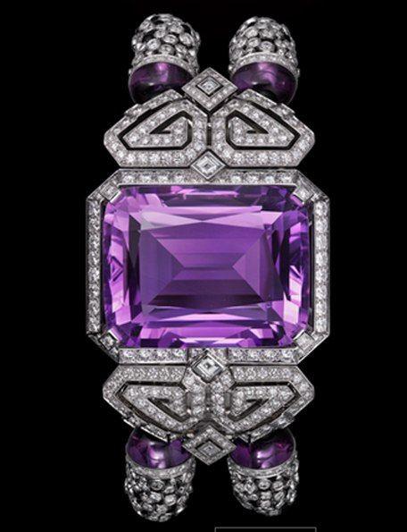 Ночной Картье. Cartier Браслет - часы
