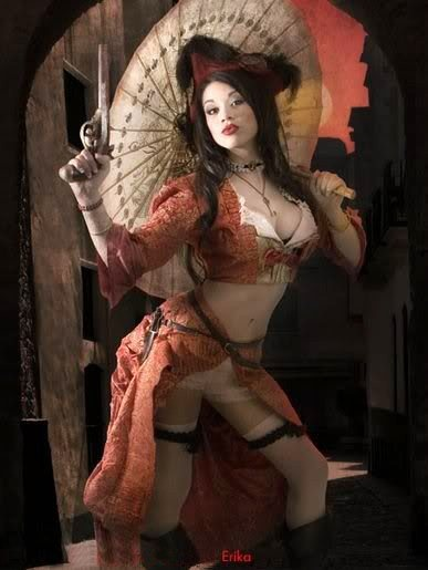 Steampunk, Renaissance Faire and Pirates