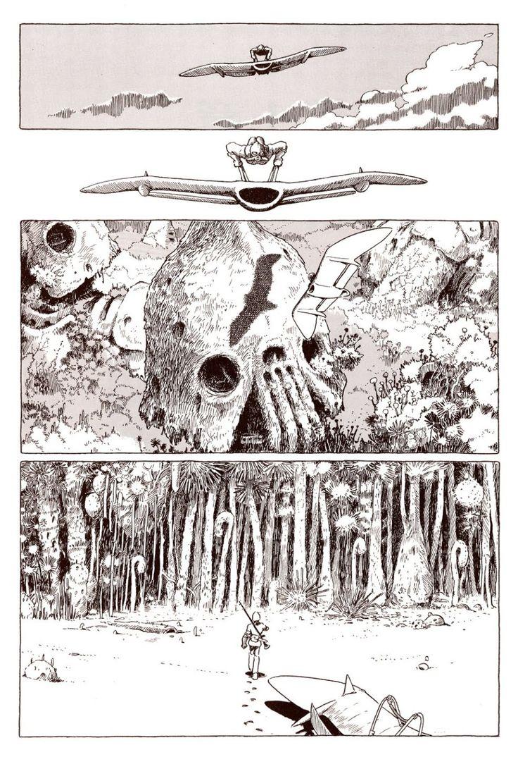 Nausicaa Miyazaki manga