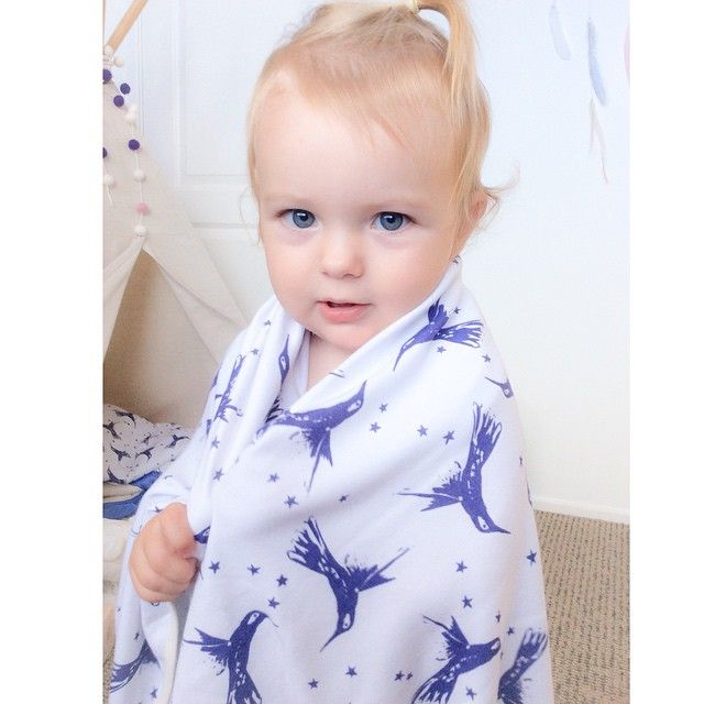Seems our baby wrap doubles as a pretty good dress-up cape! #organiccotton #hummingbird #moonjelly #madeinaustralia