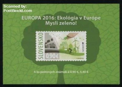Europa, Think Green s-a booklet