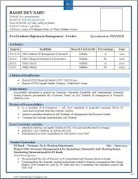 image result for resume template for freshers free download - Resume Templates For Freshers