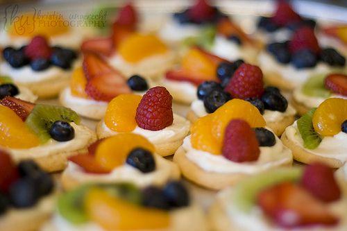 Mini Fruit Pizzas by Krissy Anne, via Flickr