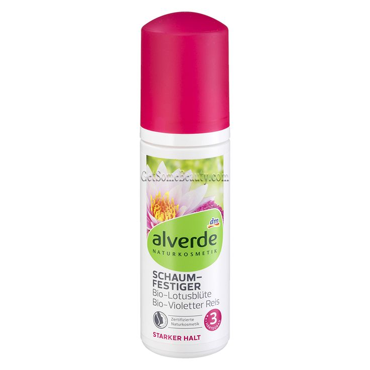 ALVERDE Natural Cosmetics Mousse Strong Hold 150 ml | Get Some Beauty