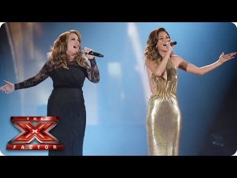Celebrity singing x factor sunday