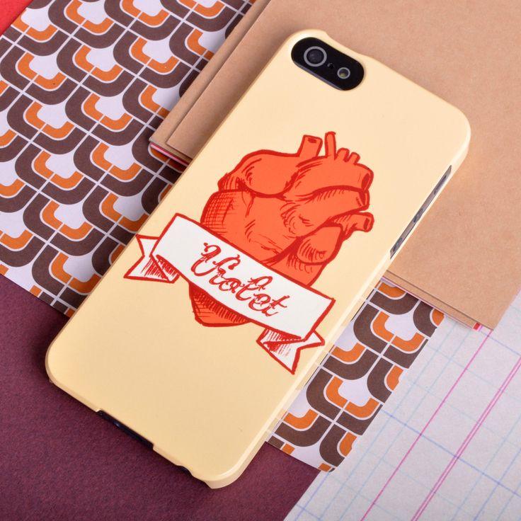 'Anatomical Heart' Tattoo phone case