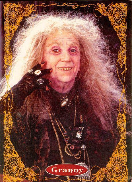 Addams Family grandma | Dr. Theda's Crypt