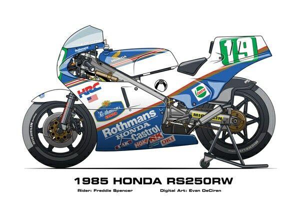 Honda RS 250 RW '85