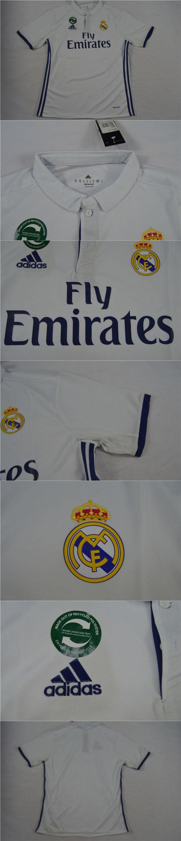 Cheap Soccer Jerseys Spanish Liga Real Madrid Home Soccer Jersey Shirt 2016-2017   www.hotclubjersey.com