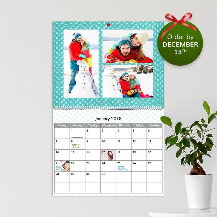 Calendars, Personalized Desktop and Wall Calendars | Costco Photo Centre