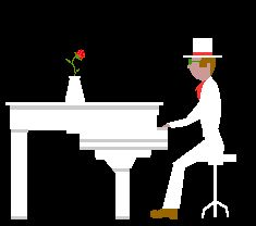 piano man......he makes a stand....