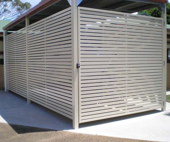fence enclosed carport - Google Search