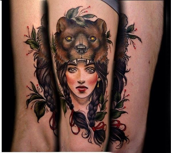 80 Fabulous Bear Tattoo Designs And Meanings