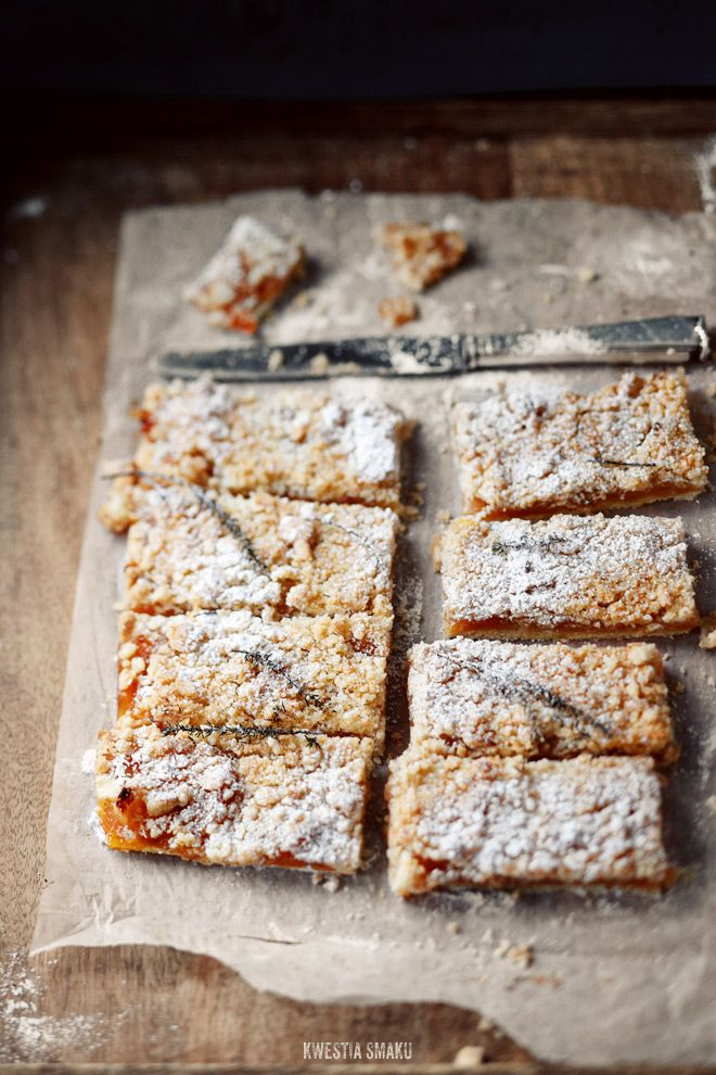provence style apple cake with thyme