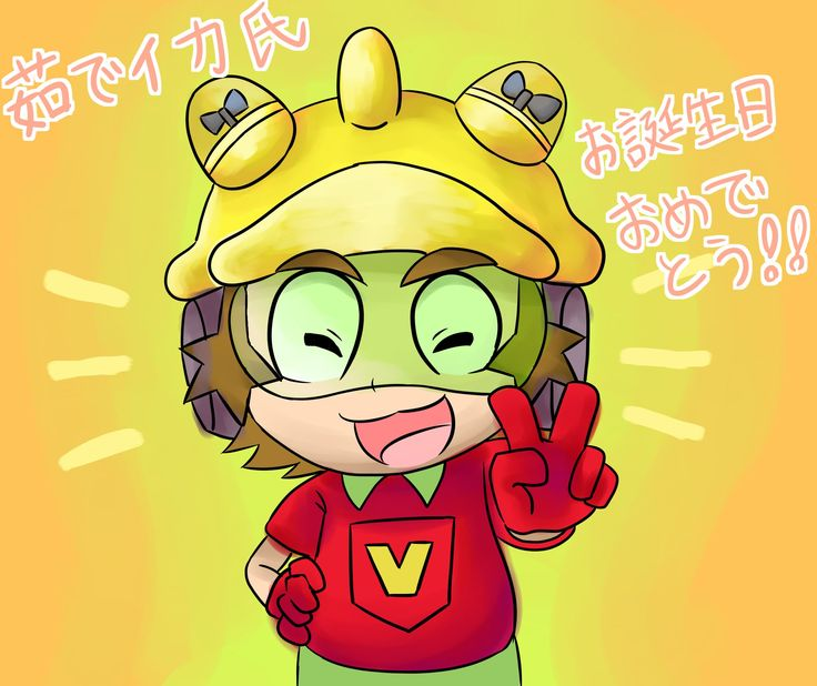 9-Volt, my favorite character of the WarioWare series.