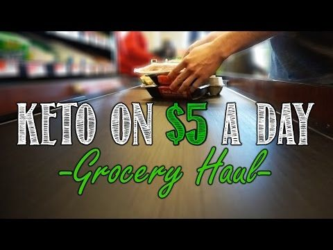 Keto on a Budget | Shopping List and Meal Plan for Keto on $5 a Day [Infographic...