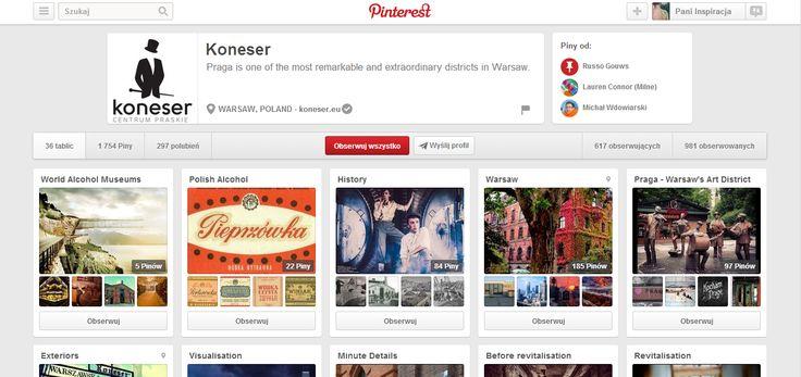 nie może zabraknąć tego profilu: http://www.pinterest.com/koneser/