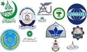 Pakistan University Ranking 2014