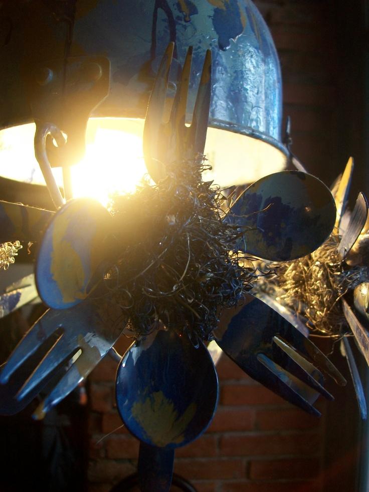 Unas lámparas muy originales!!!!!!!!!!!!!!!