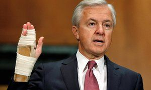Ex-Wells Fargo CEO John Stumpf deserves jail – not a plush retirement If the Department of Justice lived up to its name, it would move forward with John Stumpf's criminal investigation