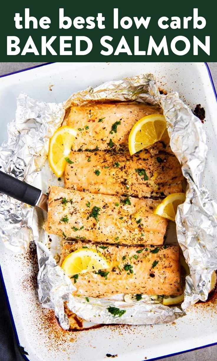 Jun 19, 2020 – Put a quick and healthy dinner on the table with this recipe for Lemon Garlic Butter Salmon Baked in Foil…