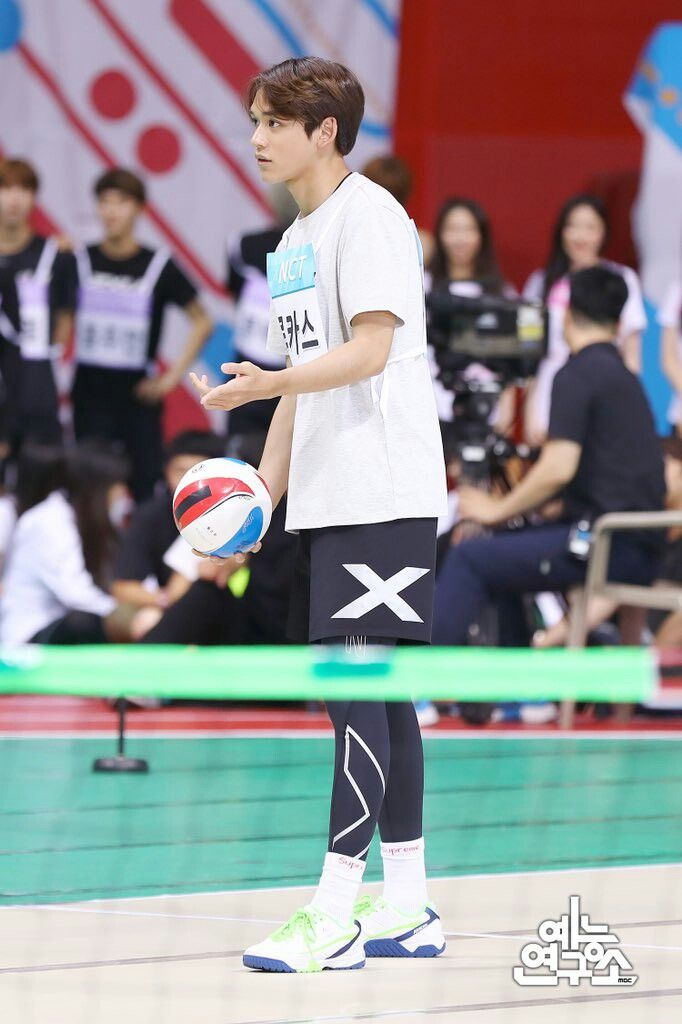 180820 Idol Star Athlecist Champions Isac 2018 Nct Lucas