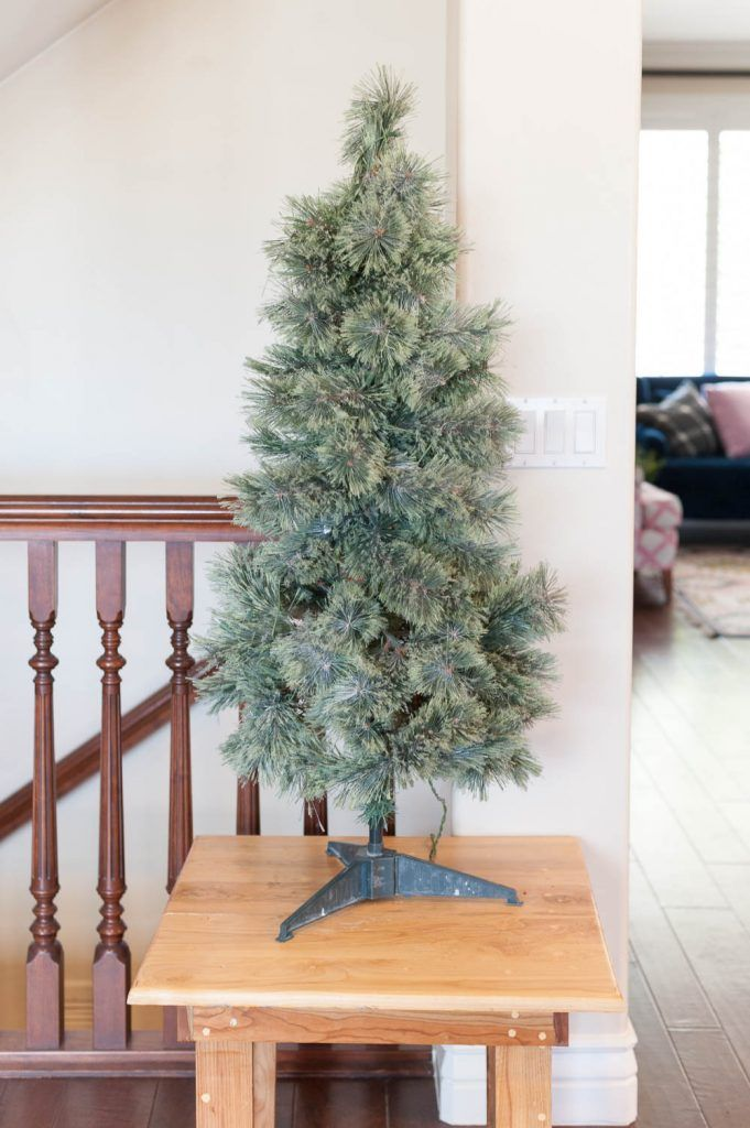 Using Picks To Transform Your Cheap Christmas Tree Christmas Decor Diy Cheap Cheap Christmas Trees Diy Holiday Decor
