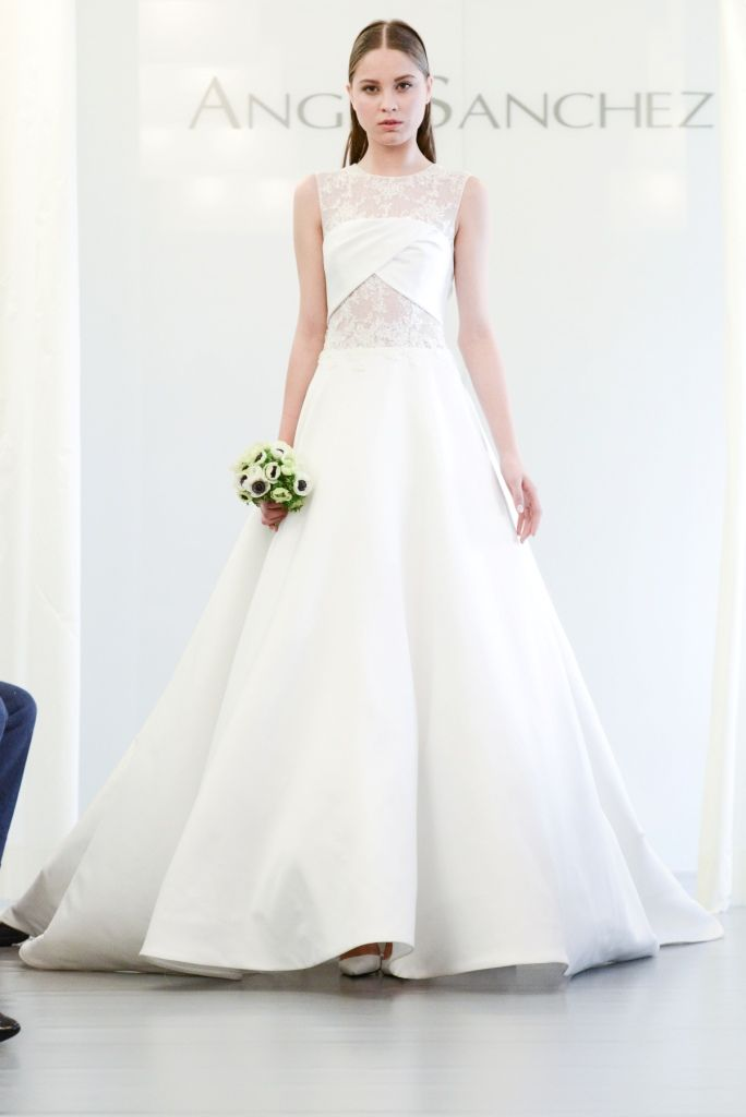 Angel Sanchez Wedding Dresses Fall 2017 Modern Dressesdesigner