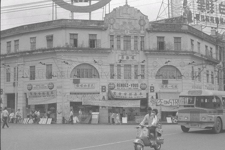 Singapore, RENDEZVOUS BAR, HOTEL AND Nasi Padang on Bras Brasah Road, 1962   THE LIBYAN Esther Kofod www.estherkofod.com