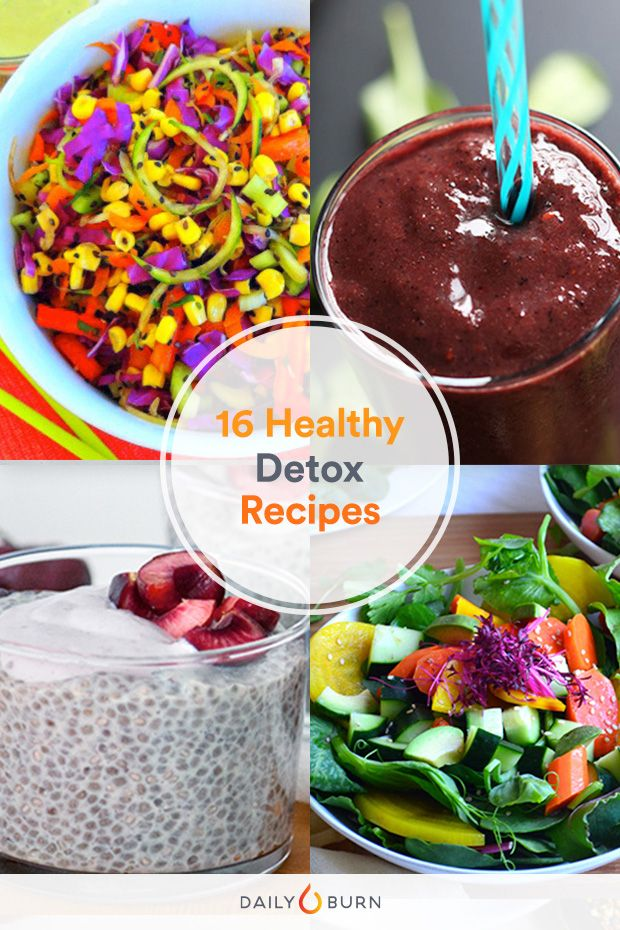 How to Detox the Healthy Way: 16 Recipes You'll Love