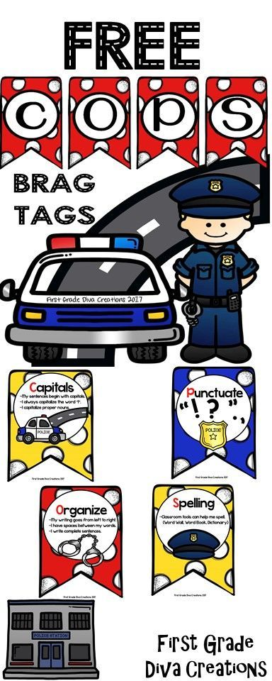 The COPS strategy has never been more adorable or accessible for your students. Use these COPS Brag Tags to encourage your young writers to use capitalization, organization, punctuation, and correct spelling.