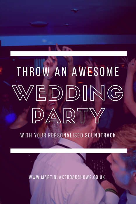 Throw An Awsome Party In Hampshire - DJ Martin Lake