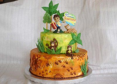 I need someone to make this cake for me for Nic's birthday party!