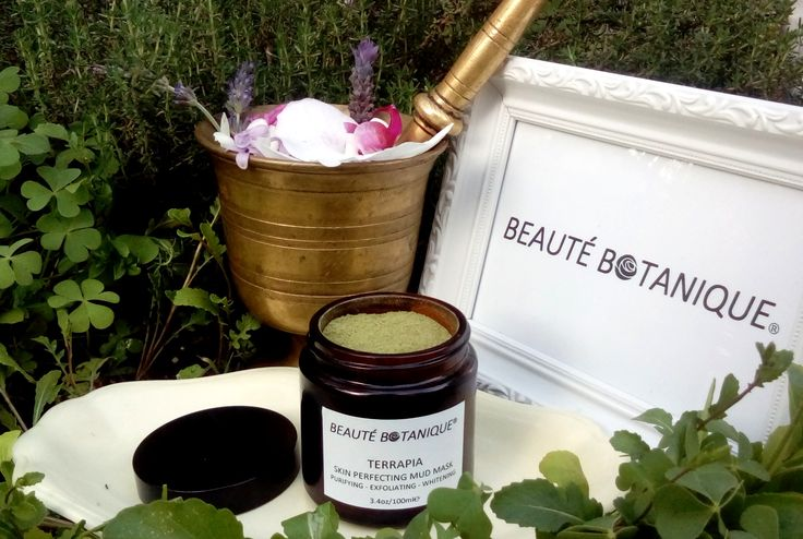 TERRAPIA Skin Perfecting Face Mask, a great choice to purify and renew your complexion, by Beauté Botanique