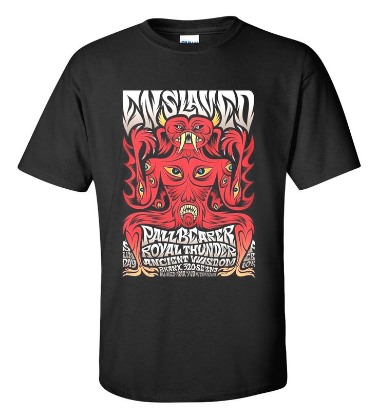 Enslaved T-shirt M/L/XL/2XL/3XL Clothing Tshirt