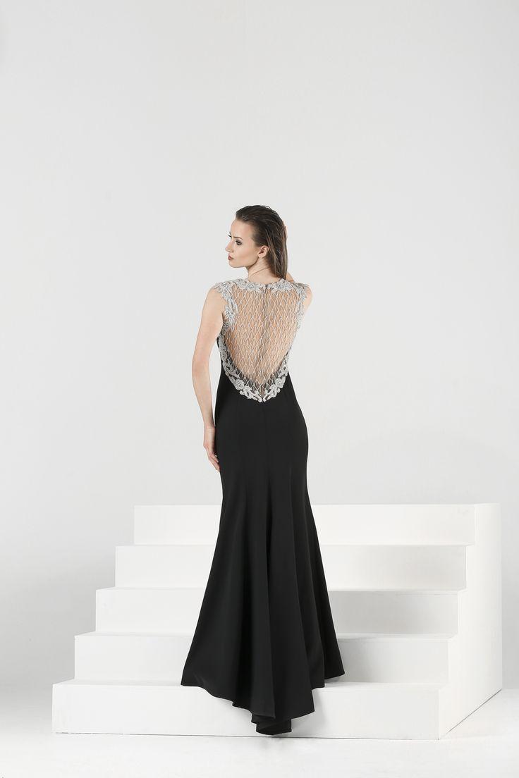 Ankyra, black evening dresses, back detailed black evening gowns, 2018 abiye modelleri, sırtı açık elbise, sırtı işlemeli abiye, abiye, elbise, 2018 gece koleksiyonu, aşk, sevgi, evlilik, düğün, nişan, kına, evden çıkma, trash the dress, after party, party dresses, cocktail dresses
