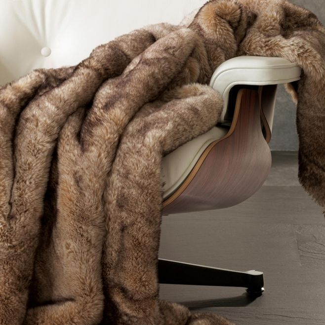 Плед из искусственного меха Winter Home Puma (Швейцария)