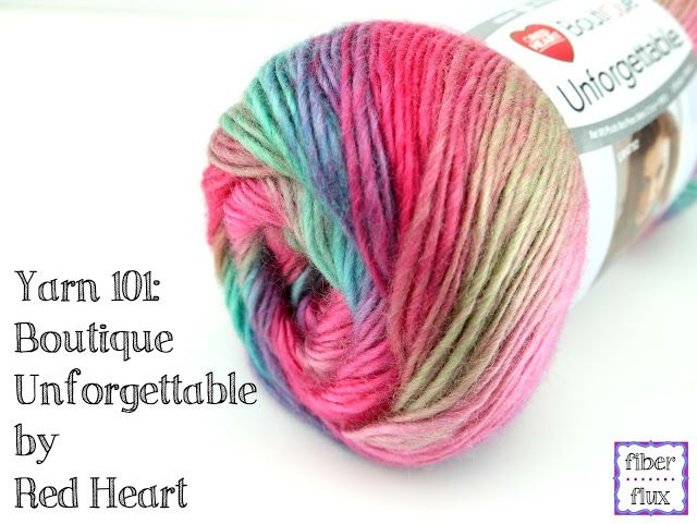 Yarn 101: Boutique Unforgettable By Red Heart