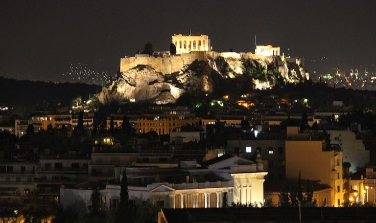 The Acropolis by night. #photography #travel  http://twentyfourhoursin.blogspot.ca/